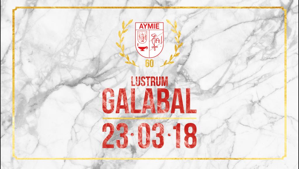 Aymie's Lustrum Galabal 23 Maart 2018